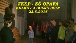 FKSP Krakov a solné doly (ZŠ Opava) - 23. 5. 2016
