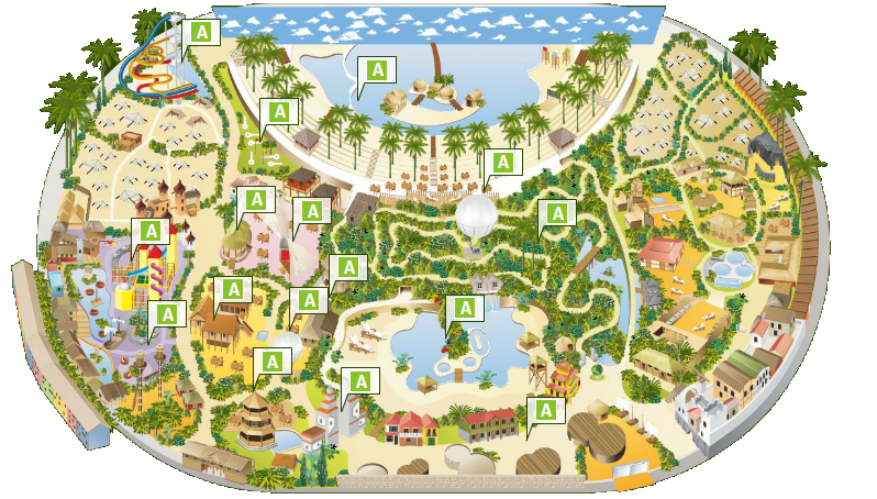Tropical Islands Krausnick Germany Water Park Map Gattom Ek